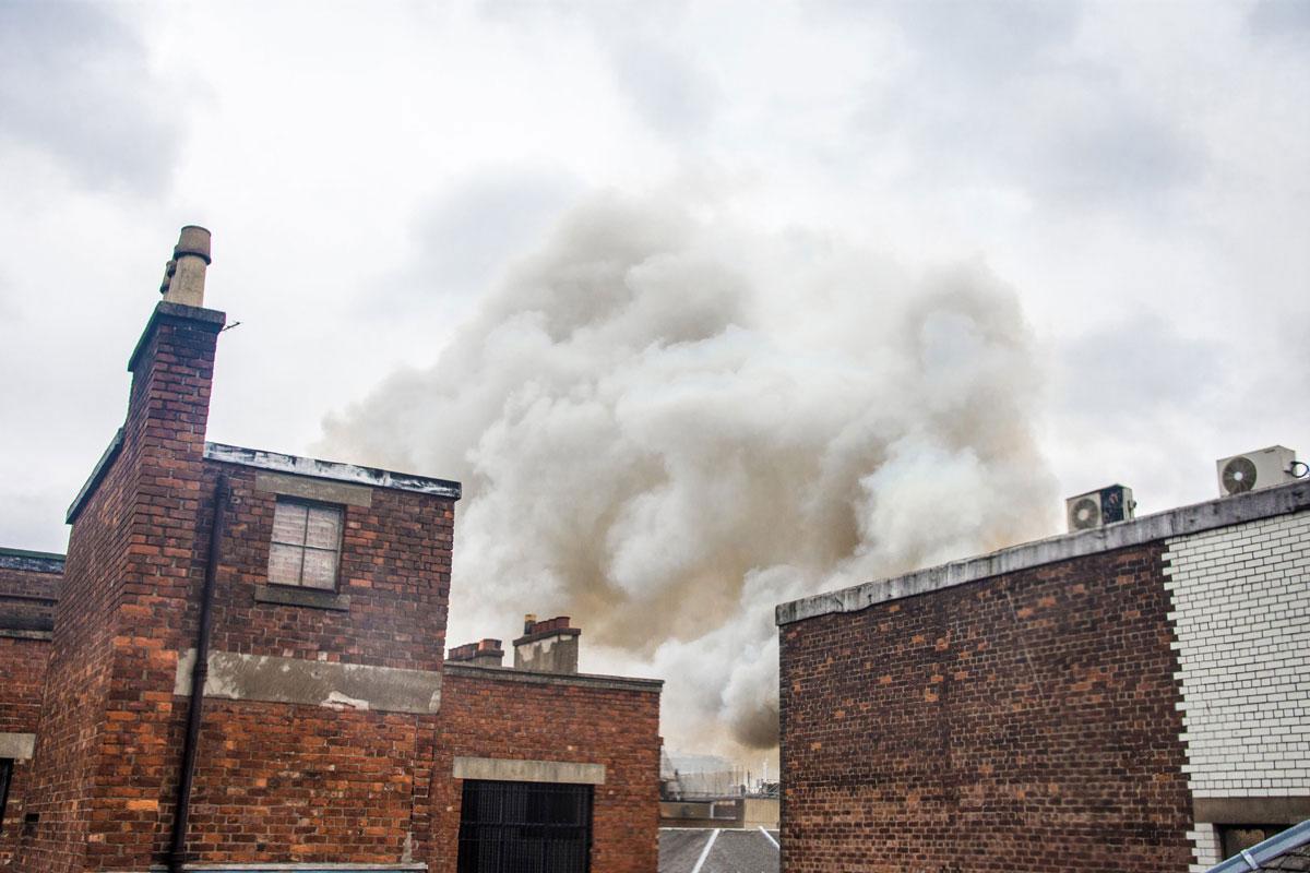 Fire at Victoria's Nightclub, Sauchiehall Street, Glasgow
