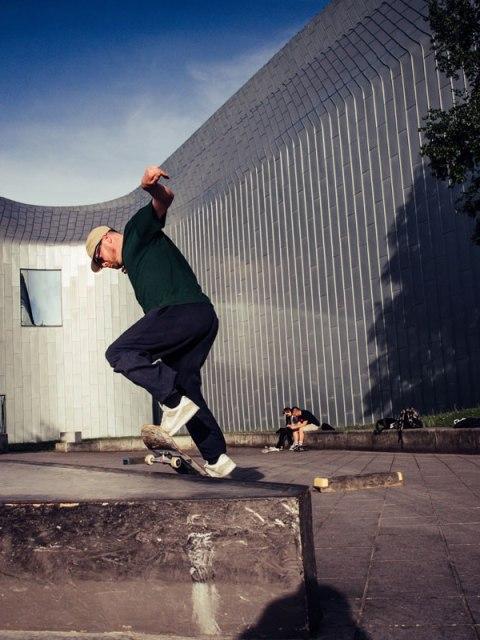Glasgow Skateboarding Skateboarder Riverside Museum