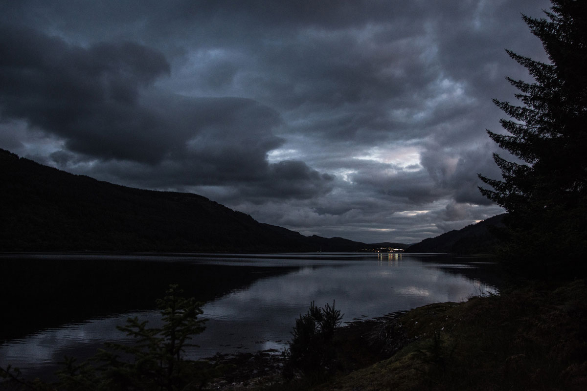 After Dark Loch Long Clouds