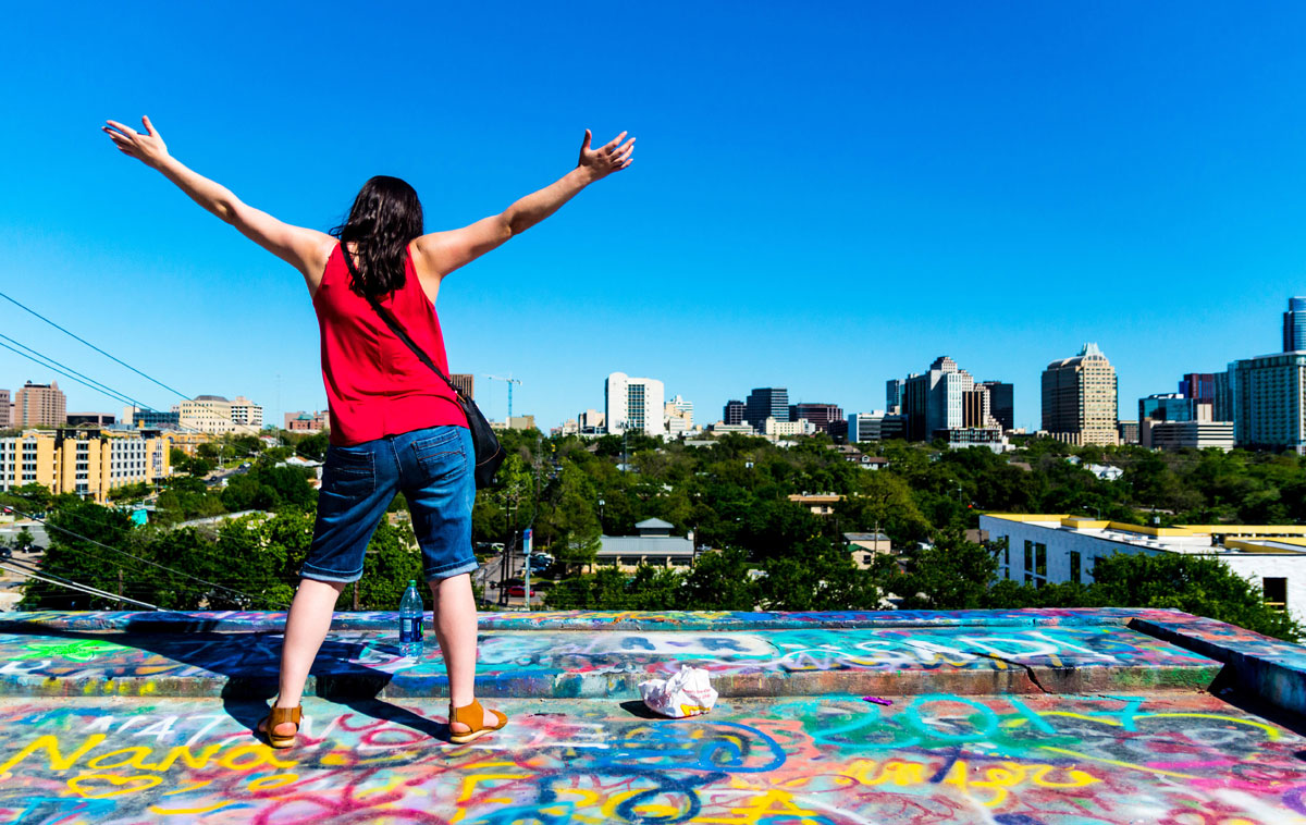Graffiti Hill Austin Texas