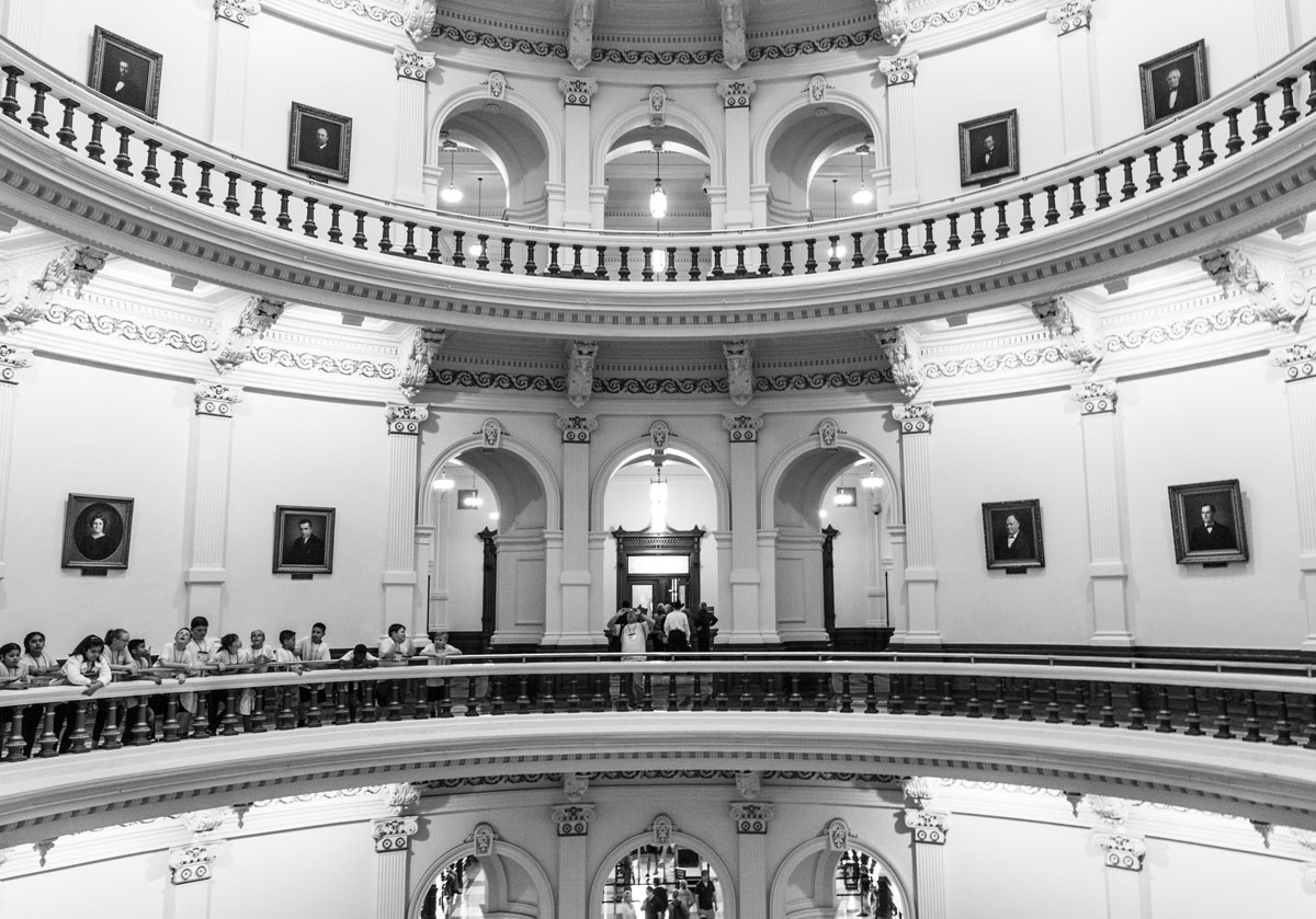 Inside Capital Building Austin Texas