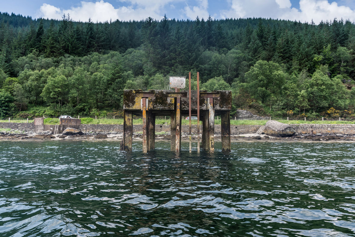 Old Pier, Loch Long