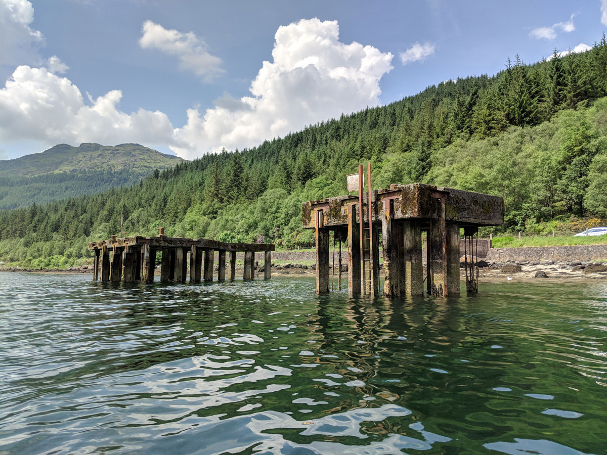 Old Loch Long Piers