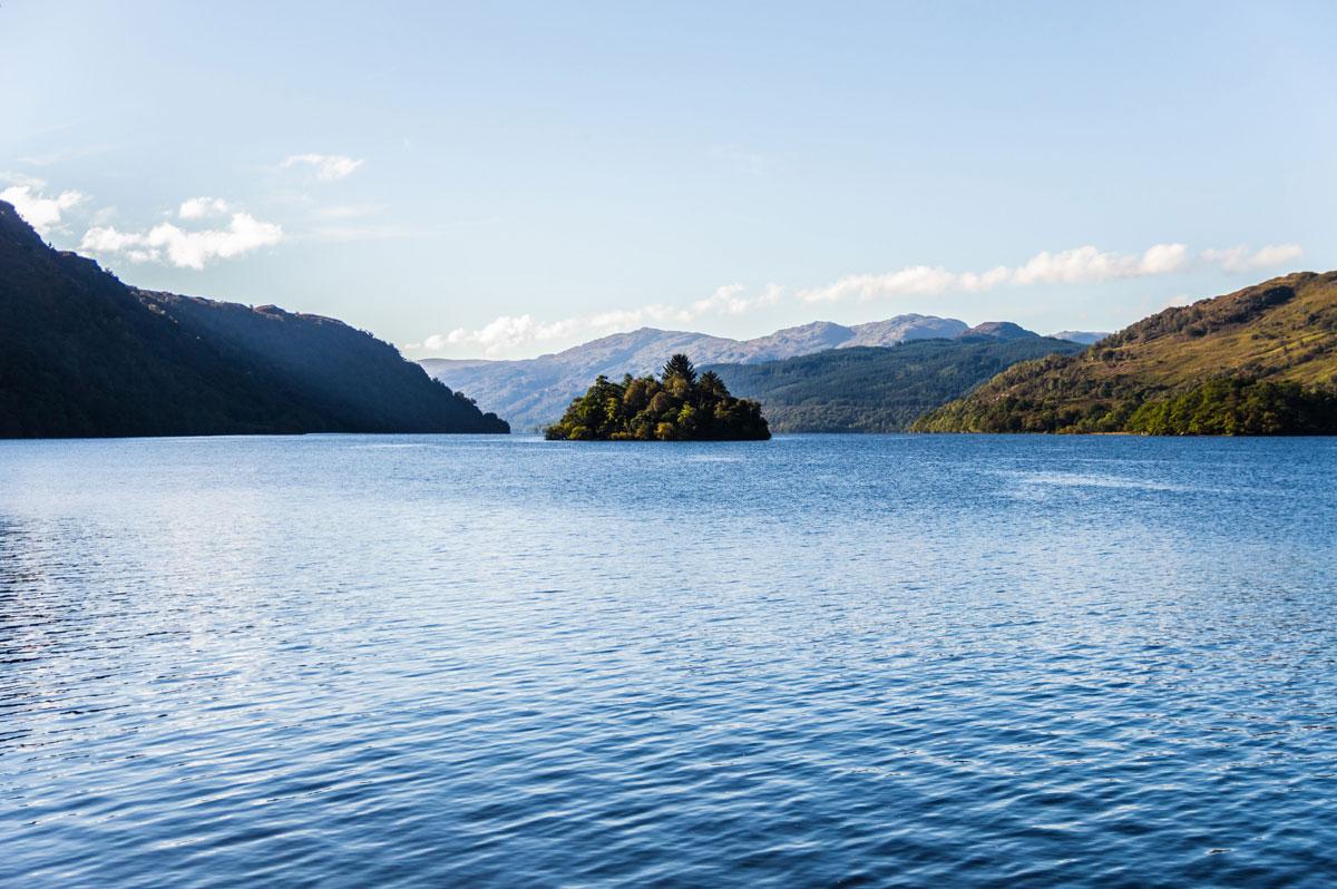 Island I Vow Ivow Loch Lomond Scotland