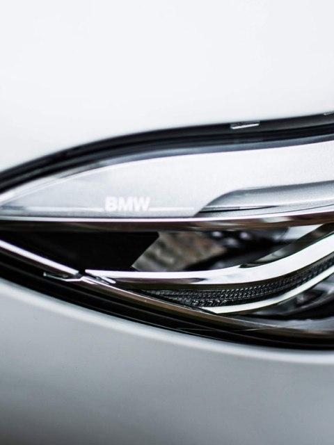 BMW Z4 Lights Close Up