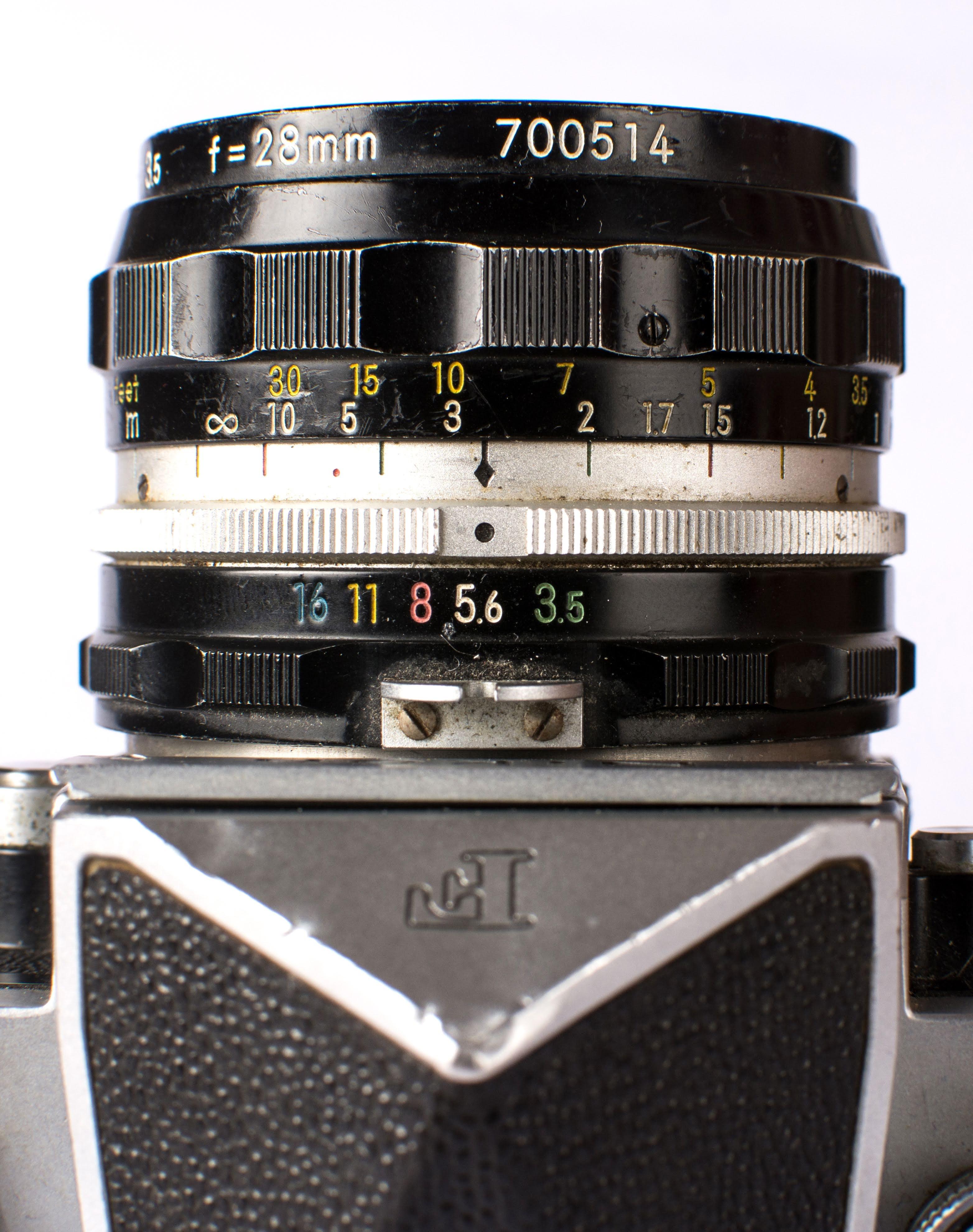 Nikon F 28mm Prime Lens