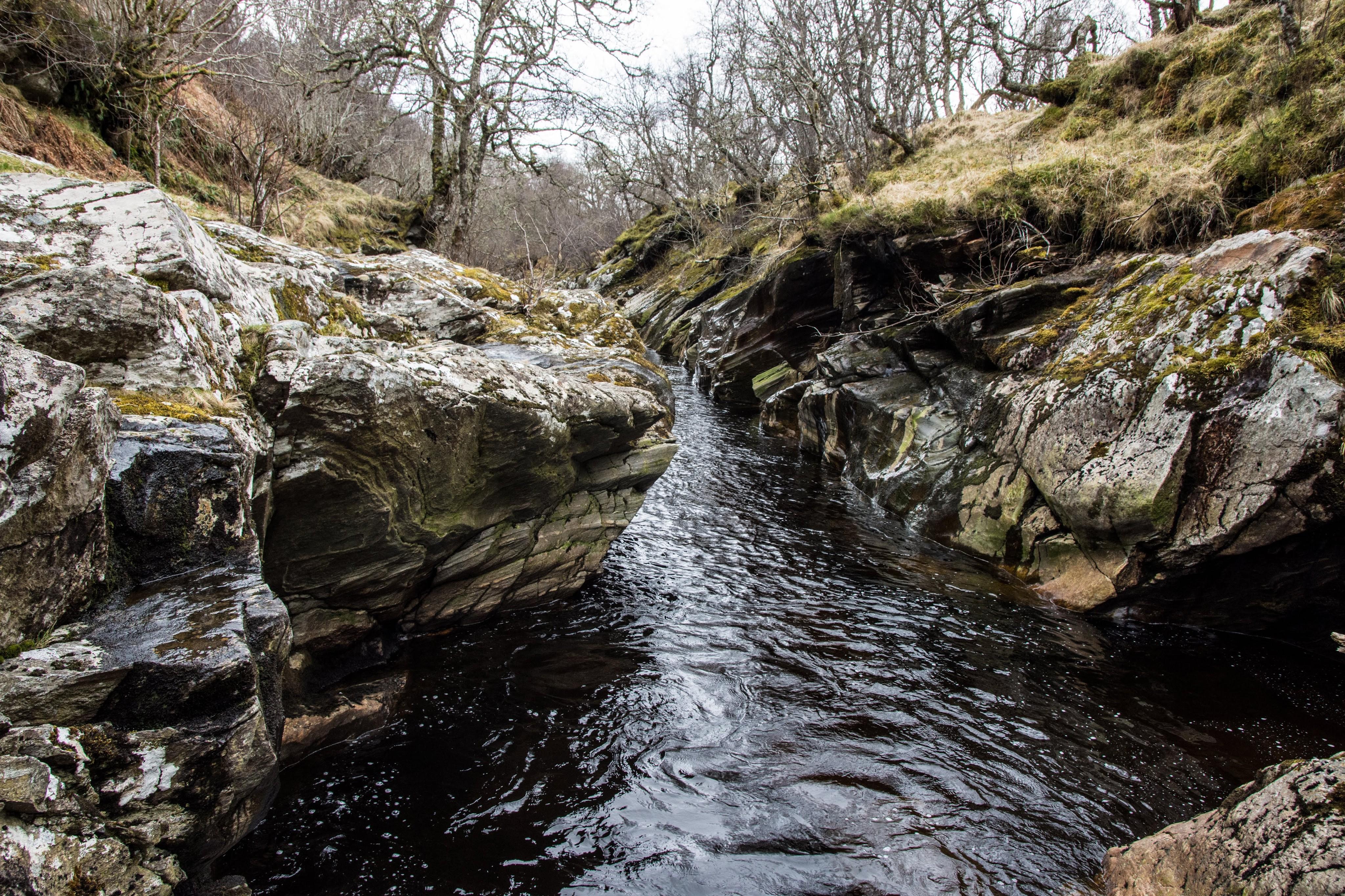 River Calder Newtonmore Scotland