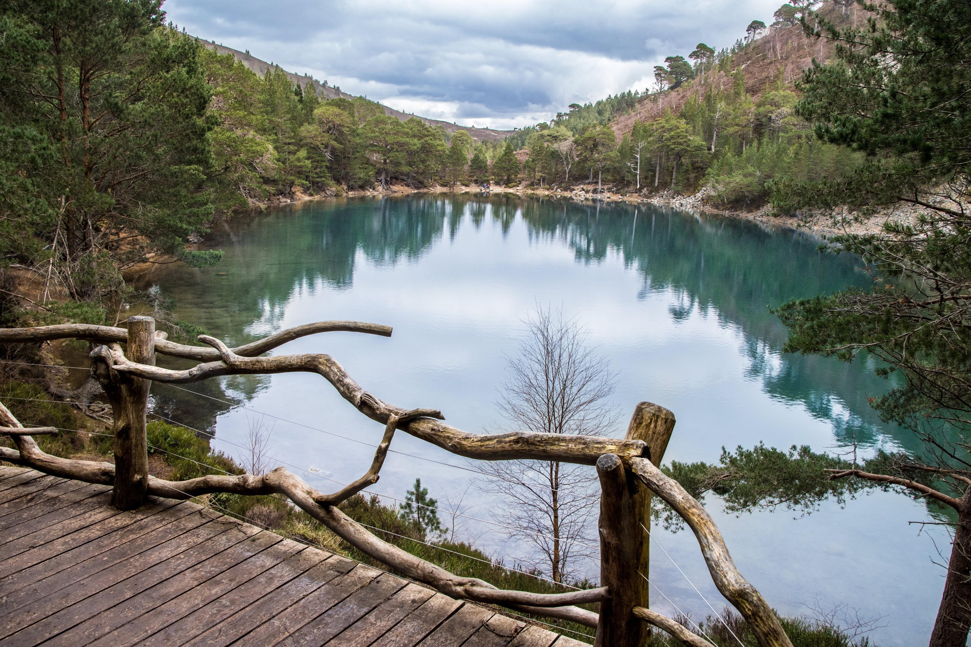 An Lochan Uaine Cairngroms Scotland Landscape