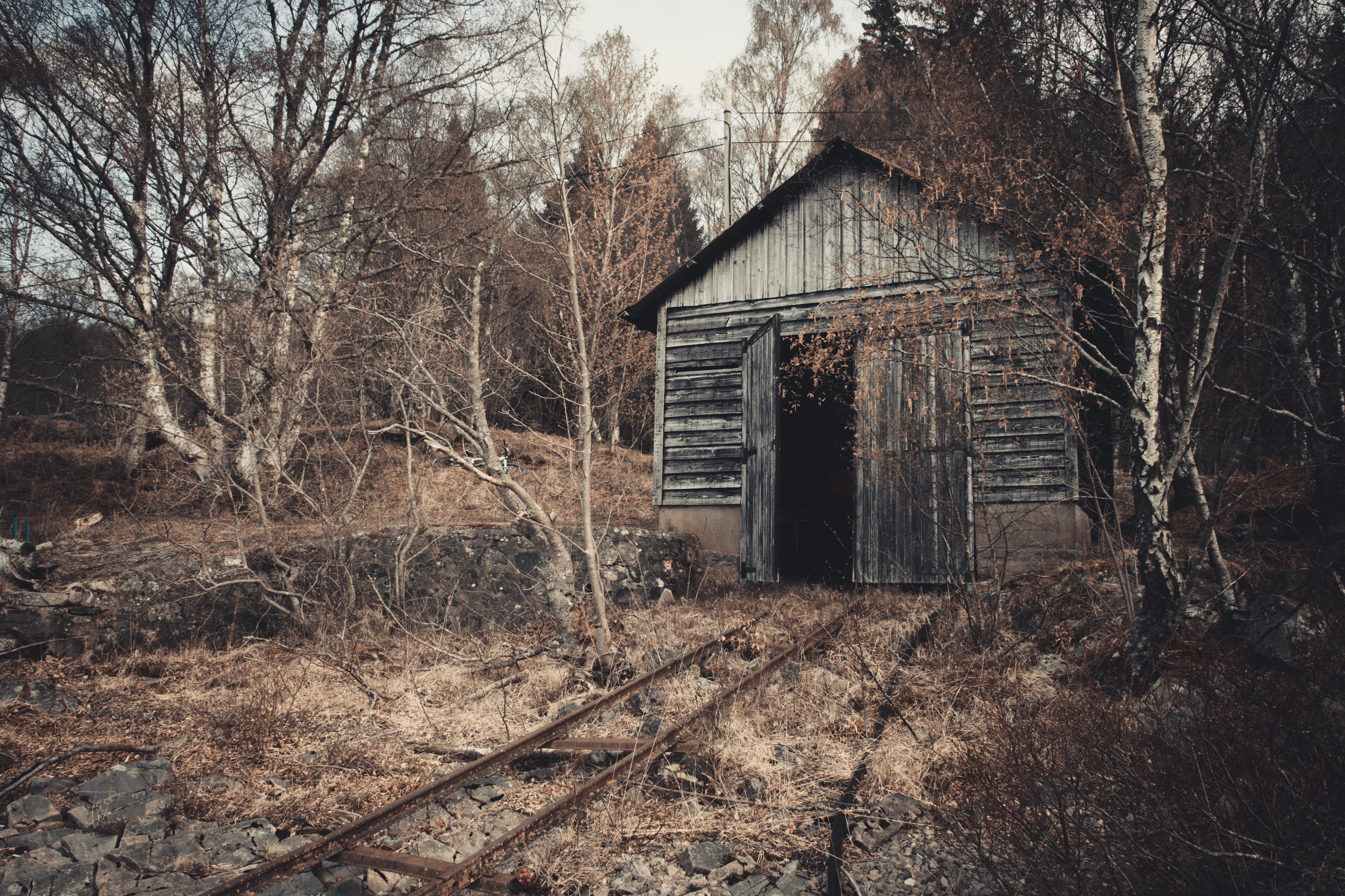 Old Abandoned Boat Shed Loch Rannoch